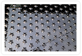 鏡面星形板